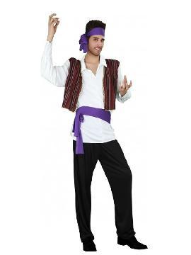 disfraz de gitano elegante hombre