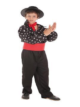 disfraz de gitano para niño