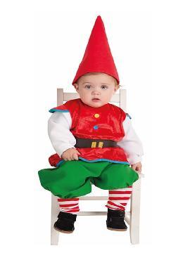 disfraz de gnomo para bebe