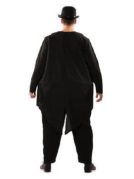 disfraz de gordo con traje para hombre
