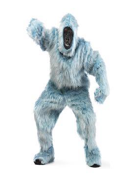 disfraz de gorila azul claro deluxe hombre