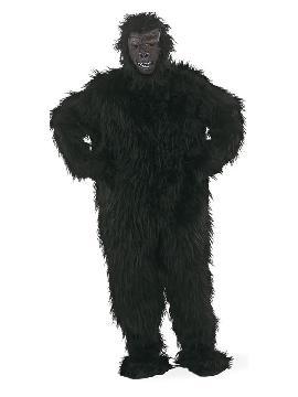 disfraz de gorila negro deluxe hombre
