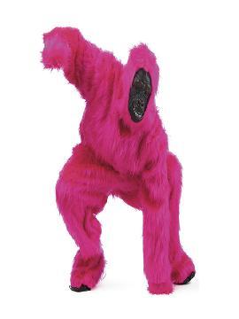 disfraz de gorila rosa deluxe hombre
