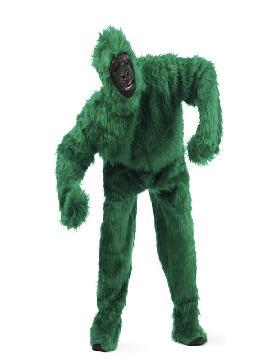 disfraz de gorila verde deluxe hombre