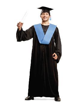 disfraz de graduado universitario adulto