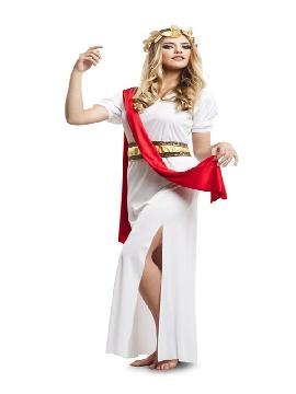 disfraz de griega agripina para mujer