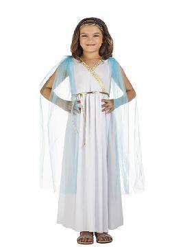 disfraz de griega noble para niña