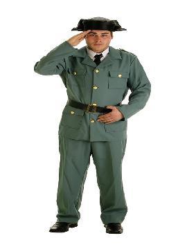 disfraz de guardia civil clasico para hombre