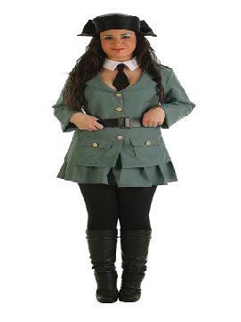 disfraz de guardia civil para mujer
