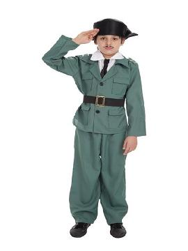 disfraz de guardia civil para niño