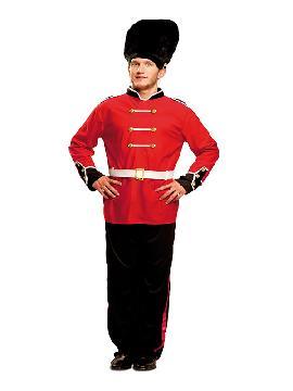 disfraz de guardia real ingles para hombre