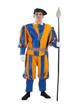 disfraz de guardia suiza del vaticano hombre
