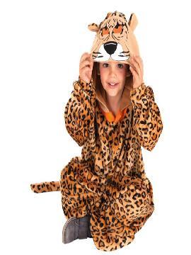 disfraz de guepardo para niño