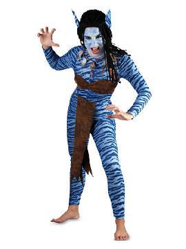 disfraz de guerrera avatar para mujer