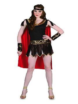 disfraz de guerrera romana mujer
