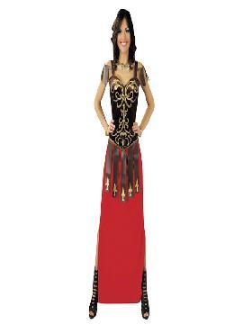 disfraz de guerrera tiberia mujer