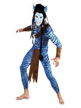 disfraz de guerrero avatar para hombre