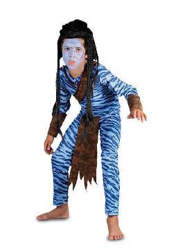 disfraz de guerrero avatar para niño