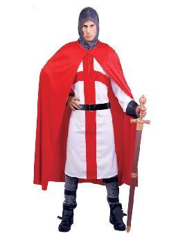 disfraz de guerrero cruzado hombre