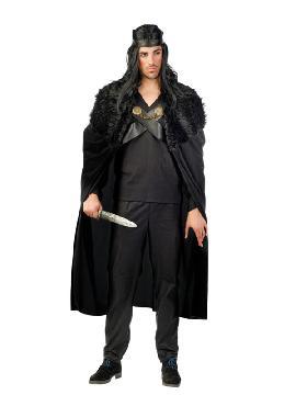 disfraz de guerrero jon nieves hombre
