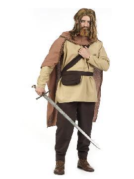 disfraz de guerrero medieval hans hombre