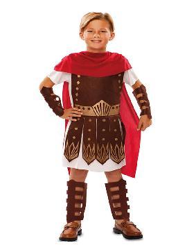 disfraz de guerrero romano niño