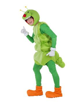 disfraz de gusano divertido para adulto