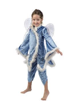 disfraz de hada del hielo para niña