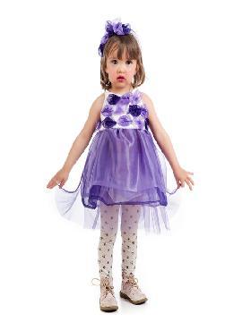 disfraz de hada lila bebe