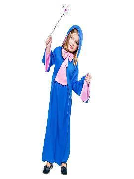 Disfraz de hada madrina niña. Cumplirás todos los deseos como una verdadera Hada Madrina a la precios cenicienta. Es perfecto para Carnaval, Fiestas Temáticas o Representaciones Teatrales. Este traje es ideal para tus fiestas temáticas de princesa cenicienta de cuento.