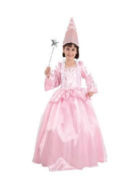 disfraz de hada madrina rosa niña