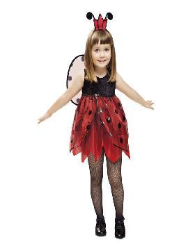 disfraz de hada mariquita niña
