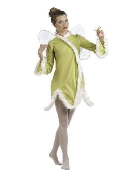 disfraz de hada primavera mujer