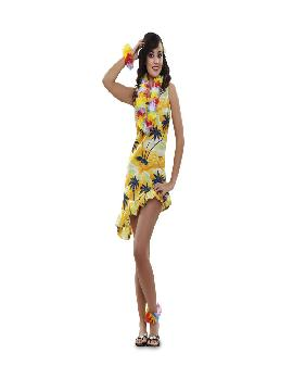 disfraz de hawaiana barata mujer