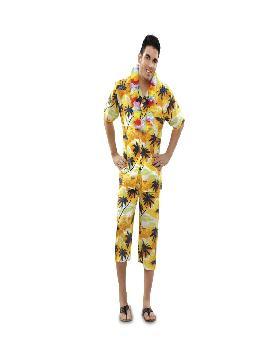 disfraz de hawaiano barato hombre