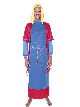 disfraz de hebreo azul hombre adulto