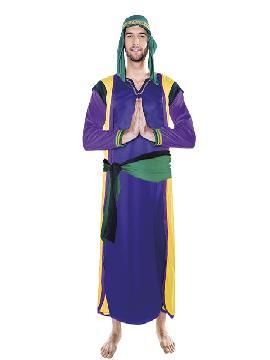 disfraz de hebreo purpura hombre adulto