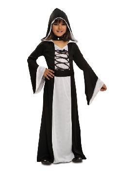 disfraz de hechicera blanca para niña