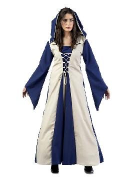 disfraz de hechicera medieval agnes mujer
