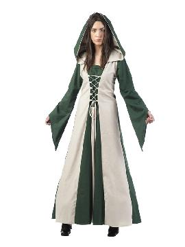 disfraz de hechicera medieval martha mujer