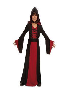 disfraz de hechicera roja para niña