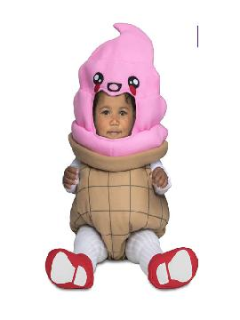 disfraz de helado para bebe