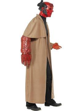 disfraz de hellboy para adulto