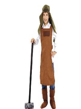 disfraz de herrero para niño