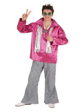 disfraz de hippie años 50 para hombre