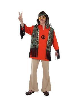 disfraz de hippie clasico hombre