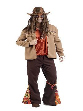 disfraz de hippie leo deluxe hombre