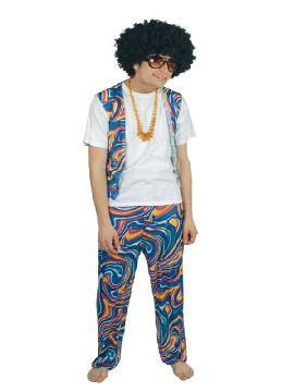disfraz de hippie retro hombre