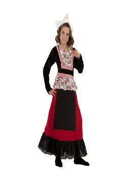 disfraz de holandesa para niña