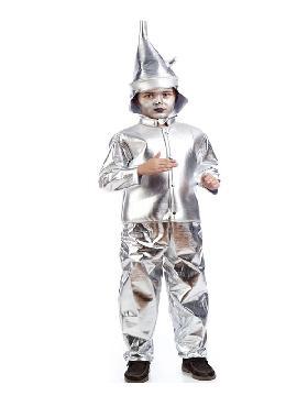 disfraz de hombre de hojalata niño